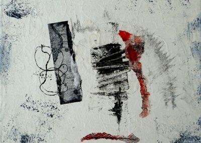 Composition  zen 50X50cm