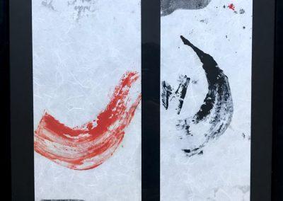 Dyptique calligraphique 2
