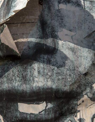 Silhouette sur affiche 120X180cm