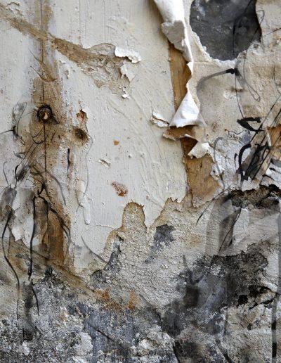 Nu sur mur Tapiès 130X90cm VENDU