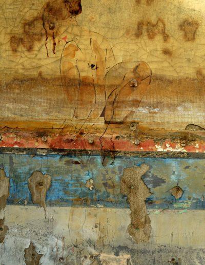 Aurélie Lafourcade oeuvre d'art, artiste, exposition, photo, Fine Art, digigraphie, matière, encre, dessin, nu, papier japonais
