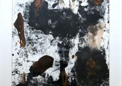 Taches noires 80X60cm